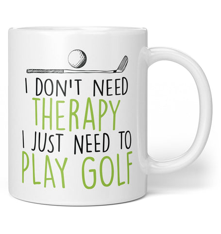 Golf Therapy - Mug - Coffee Mugs