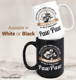 This Paw Paw Loves Football - Mug