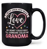 Till Someone Called Me (Nickname) - Mug - Large - 15oz / Black