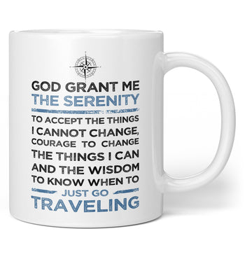 Travel Serenity - Coffee Mug / Tea Cup