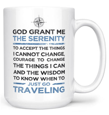 Travel Serenity - Mug - Large - 15oz