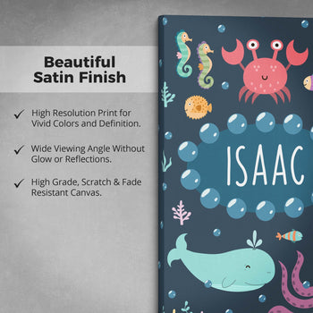 Under the Sea - Personalized Canvas - [variant_title]