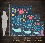 Under the Sea - Personalized Blanket - [variant_title]