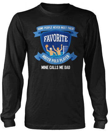 Favorite Water Polo Player - Mine Calls Me (Nickname) - T-Shirt - T-Shirts
