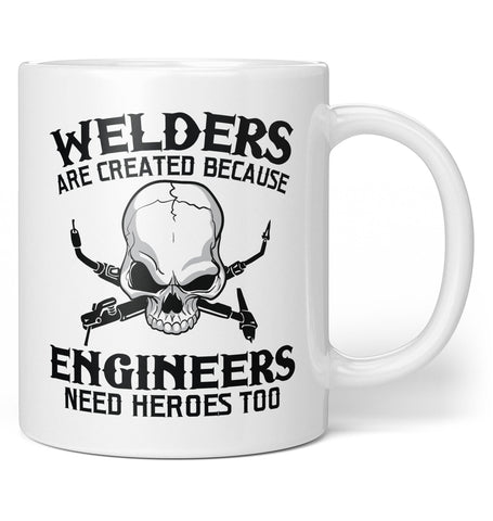 Welders - An Engineers Hero - Mug - White / Regular - 11oz