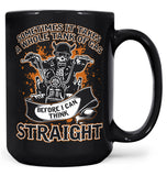 Sometimes It Takes A Whole Tank of Gas - Mug - Black / Large - 15oz
