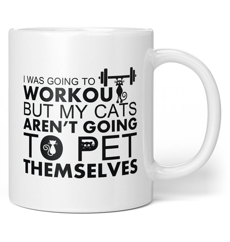 Workout Cats - Coffee Mug / Tea Cup