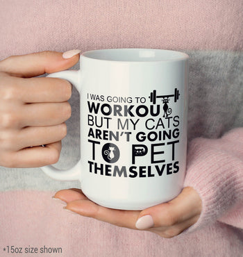 Workout Cats - Mug - [variant_title]