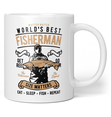 World's Best Fisherman - Coffee Mug / Tea Cup