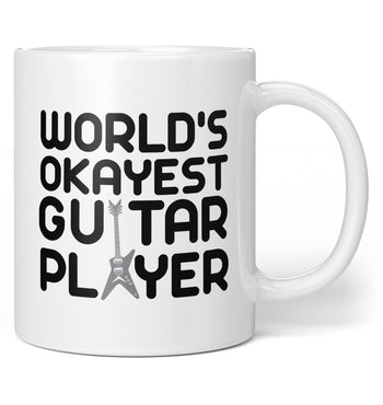 World's Okayest Guitar Player - Coffee Mug / Tea Cup