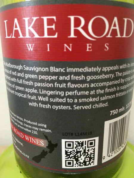 2014 lake road Sauvignon Blanc buy online winestore singapore