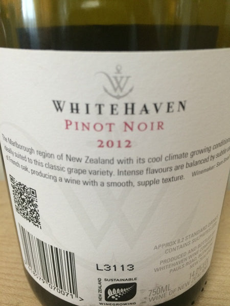 New Zealand white haven pinot noir buy cheap in Singapore