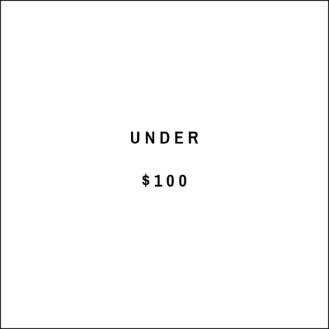 Under $100 text image