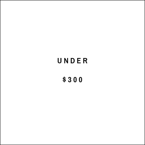 Under $300 text image