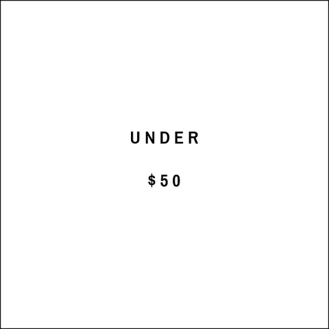 Under $50 text image