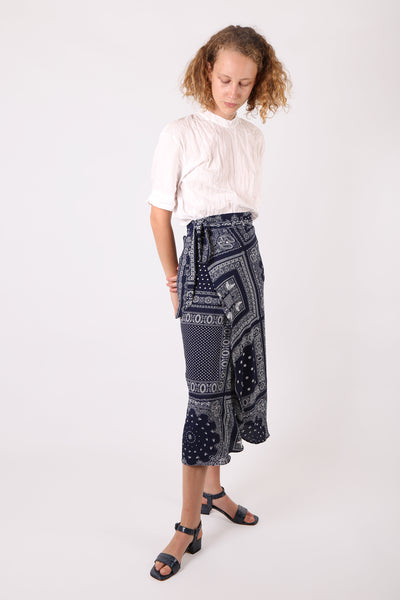 Bandana Wrap Skirt