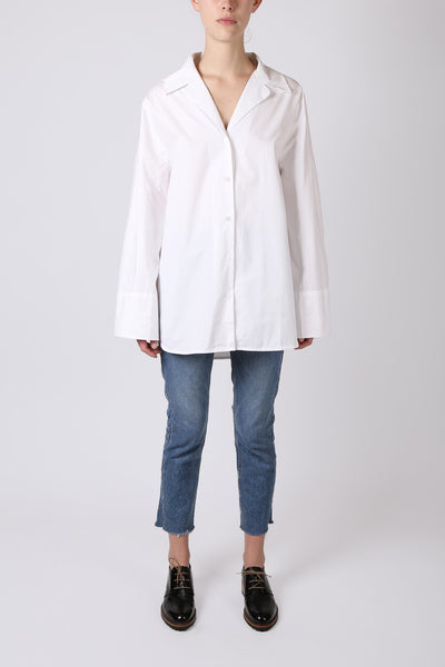Bell Sleeve Button Up Shirt