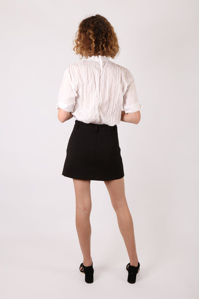 Tailored Mini Skirt