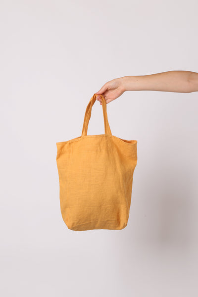 Cotton Tote Bag Mustard