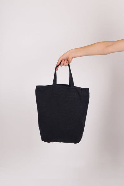 Cotton Tote Bag Navy