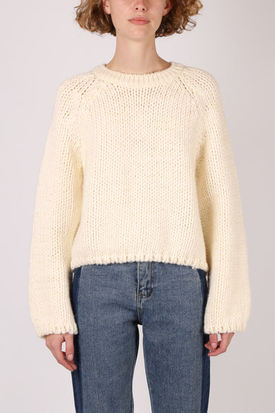 Crewneck Knit Cream