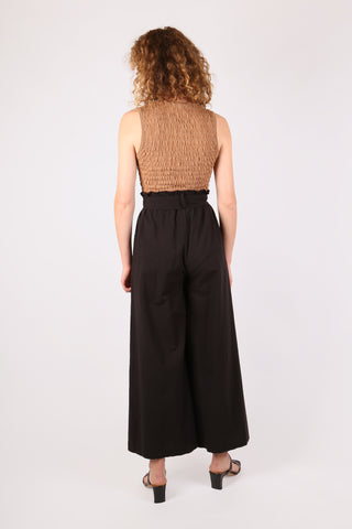 High Waist Belted Pant Black - ShopGoh