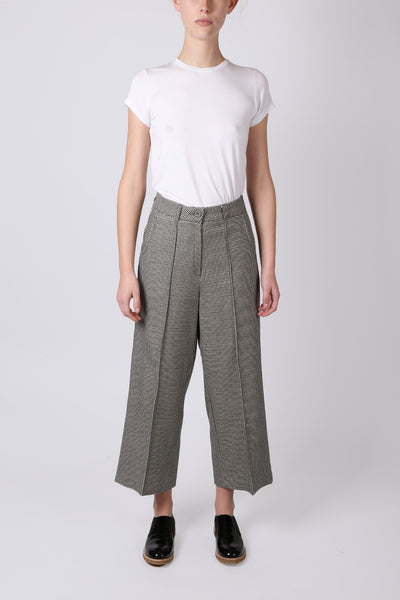 High Waist Houndstooth Pant