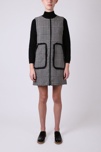 Houndstooth Pinafore