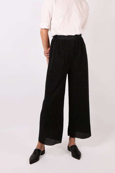 Lurex Pant Black