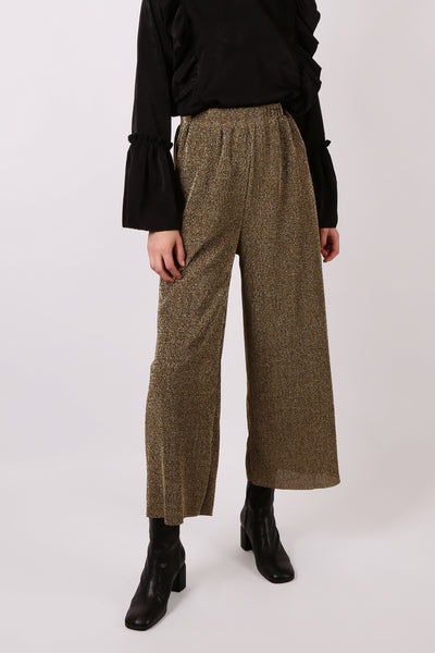 Lurex Pant Gold