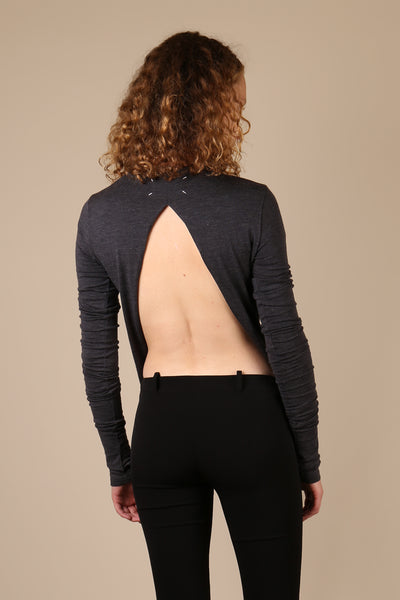 Maison Martin Margiela Backless Knit Top - ShopGoh