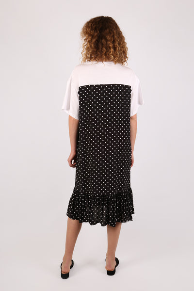 Polka-dot Tee Dress - ShopGoh