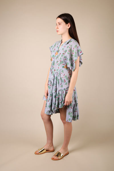 Bernhard Willhelm Cherry Print Dress