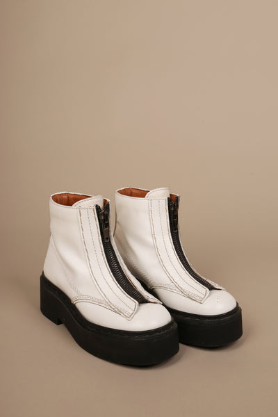 Celine Ankle Boots White