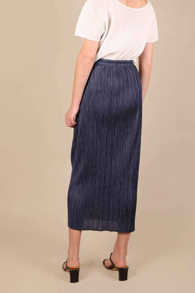 Issey Miyake Pleats Please Skirt Blue - ShopGoh