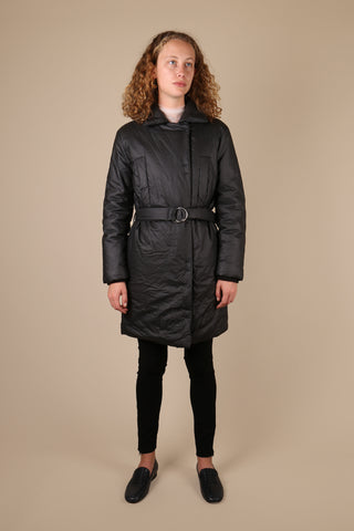 MM6 Maison Margiela Belted Coat - ShopGoh