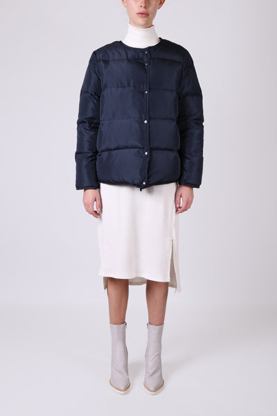 Puffer Jacket Navy - ShopGoh