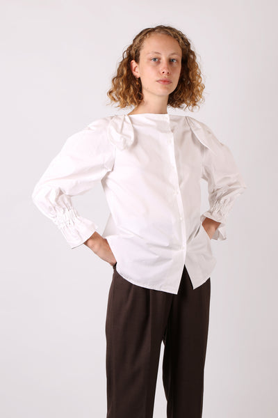 Shoulder Detail Shirt - ShopGoh