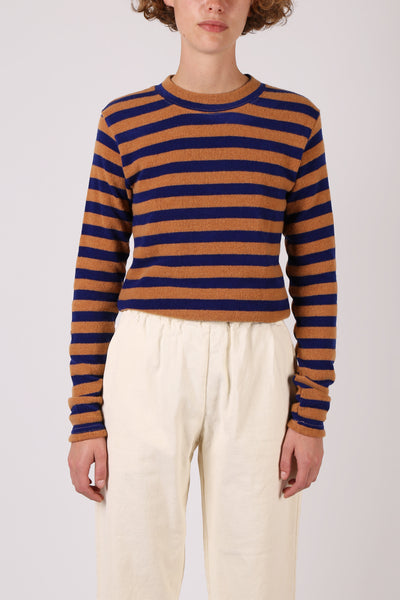 Wool Stripe Top