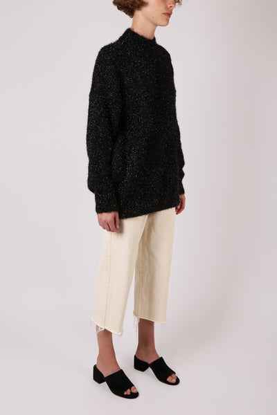 Tinsel Jumper Black - ShopGoh