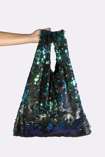 Sequin Shopping Bag