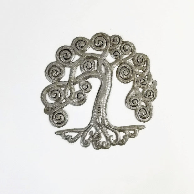 Singing Rooster - Curly Tree of Life - Wall Art - Ethical Trading Company