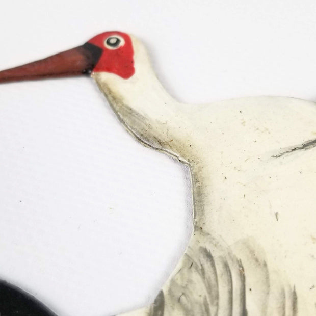 Singing Rooster - Crane Ornament - Christmas - Ethical Trading Company