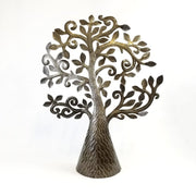 Singing Rooster - Haitian Tree of Life Metal Sculptures - Decor - Ethical Trading Company