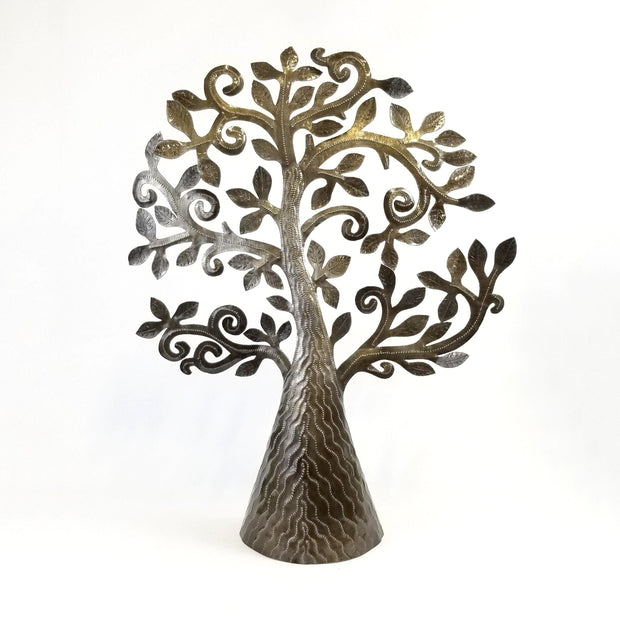 Haitian Tree of Life Metal Sculptures