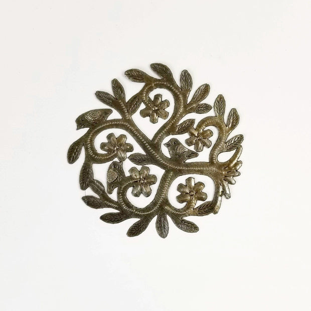 Singing Rooster - Mini Tree of Life - Wall Art - Ethical Trading Company