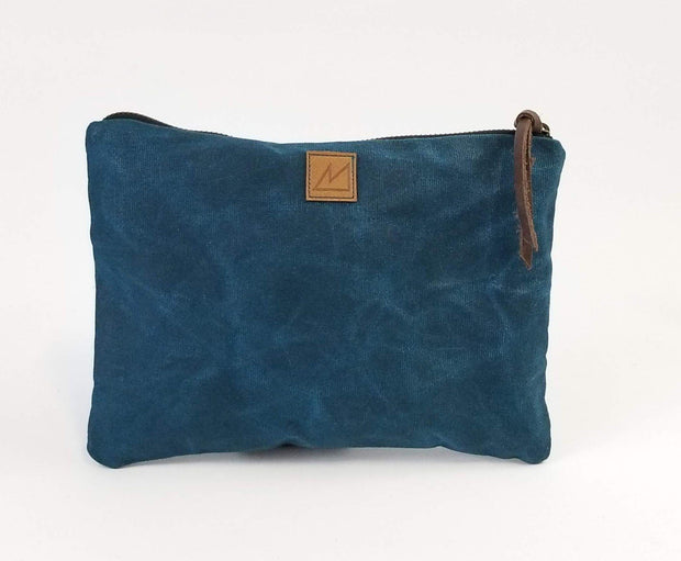 Purnaa - Waxed Canvas Renuka Bag - Travel Bag - Ethical Trading Company