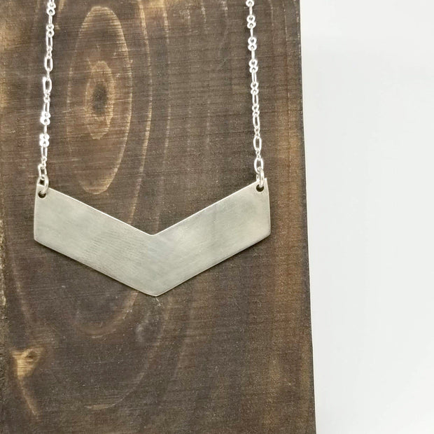 Beauty For Ashes - Chevron Necklace - Jewelry - Ethical Trading Company