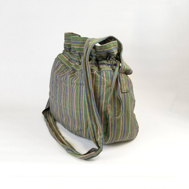 Striped Nepali Bag