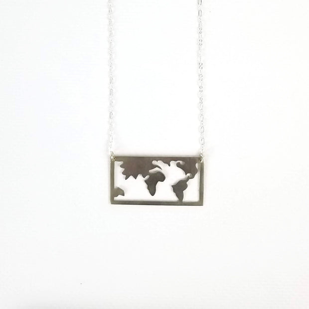 The World is My Playground Necklace